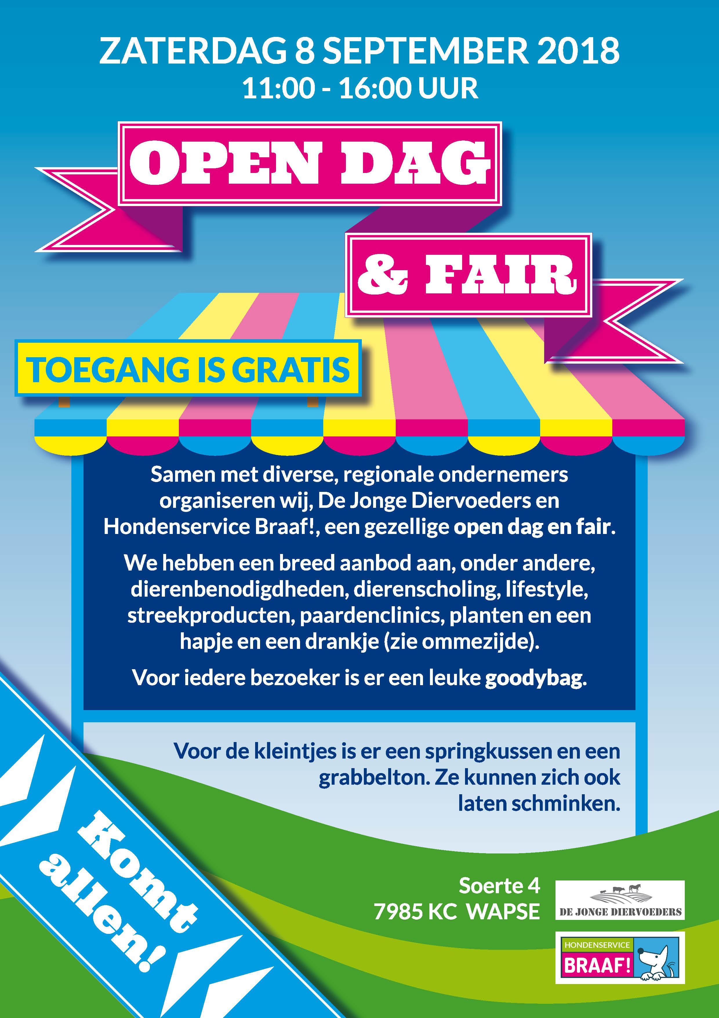 Open dag en Fair 2